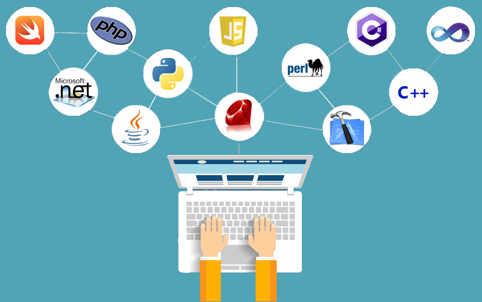 top 10 programming language for web developing websites